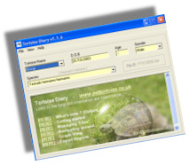 Tortoise Diary Screen shot